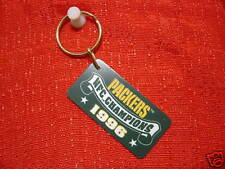 Green Bay Packers 1996 NFC Champs NFL Plastic Keychain