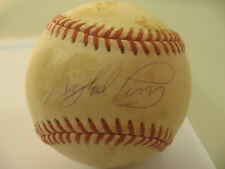 Gaylord Perry HOF Mickey Rivers Yankees Dual Signed Baseball AUTO