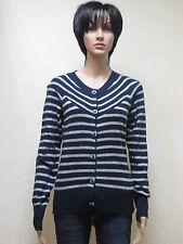 Only Strickjacke Polly Stripe Knit in dunkelblau Neuware in Größe S