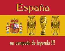 Tapis de souris Espagne champion de légende (football)
