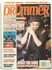 MODERN DRUMMER MAGAZINE MIKE PORTNOY DREAM THEATER DAVE LOMBARDO SLAYER RARE!!!