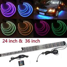 4in1 7 Color LED Strip Under Car Tube Underglow Underbody System Neon Lights