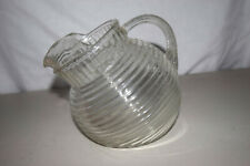Vintage Depression Glass Pitcher in EXCELLENT condition