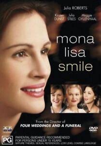 Mona Lisa Smile (DVD, 2004) Drama Romance Julia Roberts