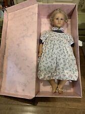 Annette Himstedt 3418 Barefoot Children Ellen 26� Puppen Kinder Girl Doll Coa