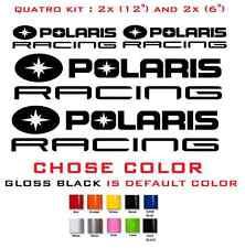 (#596) POLARIS RACING RZR 800 850 1000 570 SPORTSMAN XP QUAD STICKERS DECALS