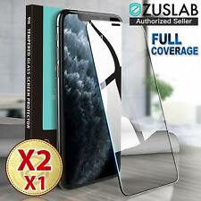 iPhone 11 Pro XS Max X XR 8 7 6SE Plus Tempered Glass Screen Protector for Apple
