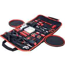 Stalwart 86 Piece Tool Kit Household Car & Office in Roll Up Bag Durable Compact