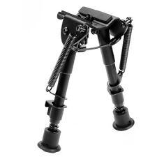"Tactical Rifle Bipod 6""-9"" Adjustable Spring Return Harris Fore Grip Weave Rail"
