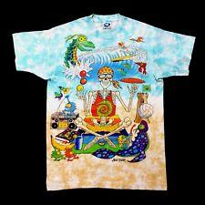 Grateful Dead Shirt T Shirt Vintage 1992 Surfing Beach Ocean Sunglass Tie Dye L