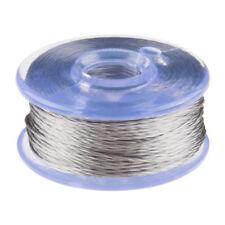 Conductive Thread Bobbin - 12m (Smooth, Stainless Steel) SparkFun