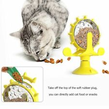 360° Rotating Windmill Toy Food Dispensing Cat Toy Pet Supplies Leaky Feeder Pet
