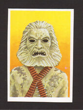 Zardoz Sean Connery Spanish Movie Monster Horror Film Collector Card