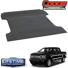 New Heavy Duty Black Bed Mat 2015-2020 Ford F150 6.6' Bed  -Lifetime Warranty