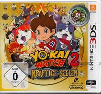 Yo-Kai Watch 2: Kräftige Seelen -für Nintendo 3DS- Neu&OVP Deutsche USK Version