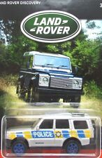 2016 Matchbox LAND ROVER ANNIVERSARY 2000 LAND ROVER DISCOVERY POLICE mint!