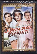 Dvd **LA PISTA DEGLI ELEFANTI** con Elizabeth Taylor nuovo 1954