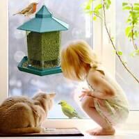 Kunststoff Wasserfest Pavillon Hängend Wildvogel Futterspender Draußen Fütterung