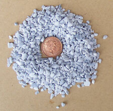 50g Packet Of White & Grey Mixed Stones Rocks Dolls House Garden Accessory 50u