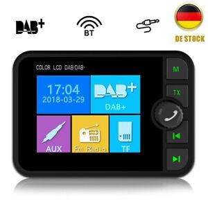 "2.4"" Auto Digital DAB DAB+ Autoradio Adapter Bluetooth Wireless FM Transmitter"