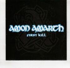 (HS852) Amon Amarth, First Kill - 2016 DJ CD