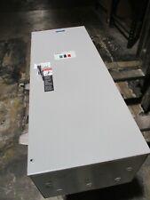 Asco Series 386 Non Automatic Transfer Switch E00386a30260c10c 208v 260a Used