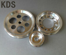Lightweight pulley FOR GS300 CS300 Toyota 2JZ 1JZ Supra Chaser Aristo 3pcs