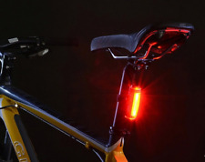 HOYOU Bike Tail Red Light Bicycle Rear Light Warning Light USB Rechargeable DE