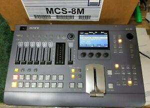 Sony MCS-8M Compact Audio Video Switcher (SONY B-STOCK)