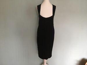 Mandolin black size 10 dress sweet heart neckline