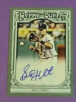 Brock Holt Rookie Auto Pirates Boston Red Sox 2013 Topps Gypsy Queen