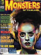 FAMOUS MONSTERS OF FILMLAND 225 WARREN HORROR MAGAZINE KISS APE MAN DRACULA