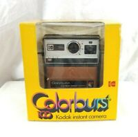 1978 Vintage Kodak Colorburst 100 Instant Polaroid Camera w/ Box & Manual - RARE
