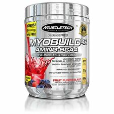 MuscleTech MyoBuild 4X Amino BCAA Fruit Punch 332 grams