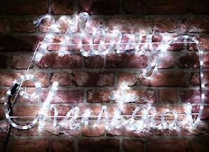 Christmas Concepts® Rope Light Merry Christmas Sign with LED Lights (RL83096)