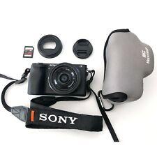 Sony Alpha A6500 24MP 4K Video + Sony E 20mm f/2.8 Pancake Lens