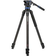 Brand New!!! Benro C373FBS7 Video Tripod Carbon Fiber Legs - Max Load 15.43 lb