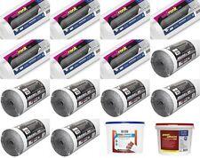 7 x graphite doublure isolante papier 7 x fibreliner 150 liner adhésif thermique