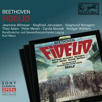 KURT MASUR - FIDELIO 2 CD NEU BEETHOVEN,LUDWIG VAN
