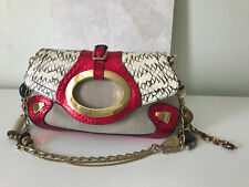 WOW Dolce & Gabbana snakeskin and swarovski beads bag