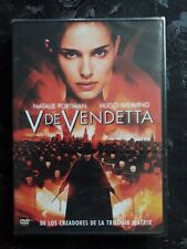V For Vendetta (SPANISH IMPORT RARE) REGION 2  NEW SEALED FREE POSTAGE UK