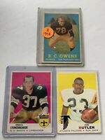 1958 Topps Football Card #64 R.C. Owens Rookie SF 49ers RC Bonus Lot Vintage