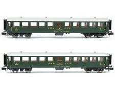 Fleischmann 881814 - 2-tlg. Schnellzugwagen-Set, SBB - Spur N - NEU