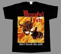 MERCYFUL FATE DON'T BREAK THE OATH'84 NEW BLACK SHORT/LONG SLEEVE T-SHIRT