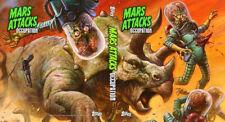 MARS ATTACKS OCCUPATION ALT BINDER + DAN BRERETON WARLORD OF MARS PROMO CARD #P2