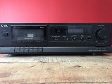 Aiwa Ad-S27 Stereo Cassette Deck Player