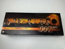 JAMES BOND 007 VHS Video Collection  Tape Box Set Spy Films Boxed Set in Case