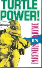 1990 R&B POP RAP CASSETTE SINGLE: PARTNERS IN KRYME - TURTLE POWER (SBK)