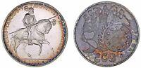 5 SILVER ECUS SPAIN / 5 ECU DE PLATA ESPAÑA. 1989. CARLOS I. SC/UNC.