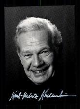 Karl Heinz Kreienbaum  Autogrammkarte Original Signiert # BC 121426